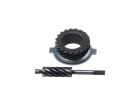 Kit de Engrenagem para Velocimetro (C/Pinhão e Motriz de Aço) WW3 para Honda Cg 125 Ks 00/08