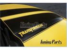Faixa Decorativa Camaro Transformers Vazado (6 peças)