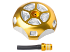 Tampa do Tanque c/ Respiro YZF / WRF / KXF 250/450 YZ 125/250 Dourada Moto X