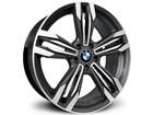 Roda KR R56 Réplica BMW M6 Aro 17x 7 5X120 Grafite Diamante ET40