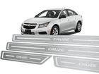 Soleira Standard Chevrolet Cruze 2011/2016 Aço Inox Standard