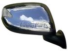 Capa Cromada de Retrovisor para New Fit C/ Furo
