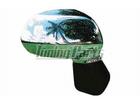 Capa Cromada de Retrovisor para New Fit S/Furo