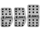 Pedaleira Fiat Stilo Manual em Aço Inox - Listrado Preto