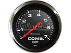 Manômetro de Combustível Cronomac Cromado 52mm Preto Luz Branca 7Kg