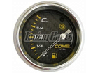 Indicador de Combustível Cronomac Carbono 60mm Preto Bóia tipo A