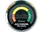 Hallmeter Cronomac Cromado 52mm Preto