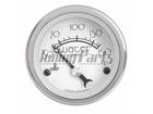 Termômetro de Água Cronomac Hot Rod 52mm Prata Luz Branca Elétrico