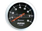 Conta-Giros Cronomac Sport 85mm 8000 RPM 4 Cilindros