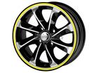 Friso para Roda Amarelo Refletivo 5mm