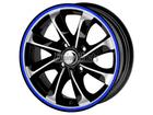 Friso para Roda Azul Refletivo 5mm