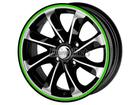 Friso para Roda Verde Refletivo 5mm