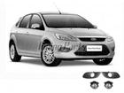Farol de Milha para Focus 09/.. Aro Cromado Automotive Imports