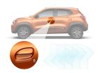 Adesivo Protetor de Maçaneta Renault Kwid 17/..