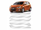 Protetor de Parachoque para Chevrolet Sonic 2012/2014 Transparente sem Escrita