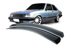 Calha de Chuva para Chevette Marajó Chevy Com Quebra-Vento 2 Portas