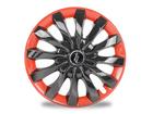 Calota Esportiva Aro 13 FLAP Black/Red 4x100 4x108 5x100