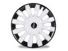 Calota Esportiva Aro 13 FLAP White/Black 4x100 4x108 5x100