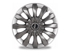Calota Esportiva Aro 13 FLAP Graphite/Silver 4x100 4x108 5x100