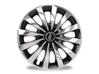 Calota Esportiva Aro 13 Passat CC Chrome/Black 4x100 4x108 5x100