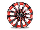 Calota Esportiva Aro 13 Passat CC Black/Red 4x100 4x108 5x100