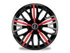 Calota Esportiva Aro 13 TRITON SPORT Black/Red 4x100 4x108 5x100