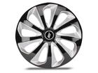 Calota Esportiva Aro 13 VELOX Black/Silver 4x100 4x108 5x100
