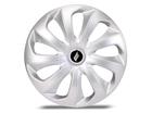 Calota Esportiva Aro 13 VELOX Silver Unicolor 4x100 4x108 5x100