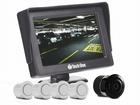 Sensor de Estacionamento Branco com Monitor e Câmera de Ré Flex - Techone