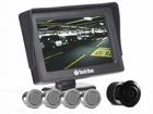 Sensor de Estacionamento Prata com Monitor e Câmera de Ré Flex - Techone