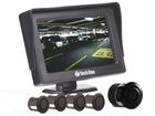 Sensor de Estacionamento Preto com Monitor e Câmera de Ré Flex - Techone