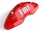 Capa para Pinça de Freio Fiat - Vermelho