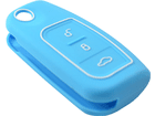 Capinha Capa de Silicone para Chave Ford Azul