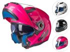 Capacete Moto Articulado Feminino Texx DV Smart - Robocop
