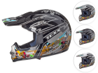 Capacete Motocross Infantil Trilha Texx MX Kids sem Viseira