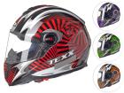 Capacete Moto Texx Dupla Viseira Action Hypnose Fibra de Vidro