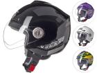 Capacete Moto Texx Aberto Arsenal Unicolor com Viseira 3mm