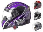 Capacete Moto Texx Dupla Viseira Race Sleek Double Vision