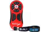 Controle Longa Distância JFA K1200 - 1200 Metros Alcance - Vermelho - Universal