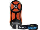 Controle Longa Distância JFA K600 - 600 Metros Alcance - Preto Teclado Laranja - Universal