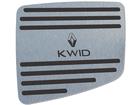 Descanso de Pé para Kwid em Aço Inox - Listrado Preto