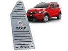 Descanso de Pé Mobi Drive em Aço Inox - Listrado Preto