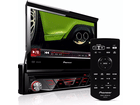 DVD Player Pioneer AVH-3880DVD Tela Retrátil