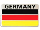 Emblema Badge Bandeira Alemanha 8x5cm