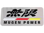 Emblema Badge Mugen Power 9x4cm