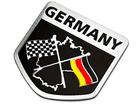 Emblema Badge Alemanha Bandeiras F1 GP Stockcar Grand Prix 5x5cm