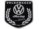 Emblema Badge Volkswagen Racing Sport 5x5cm