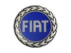 Emblema de Roda Fiat Resinado 65mm Azul