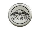 Emblema de Roda Mangels Resinado 51mm