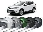 Estribo Toyota Rav4 - Stribus Padrão